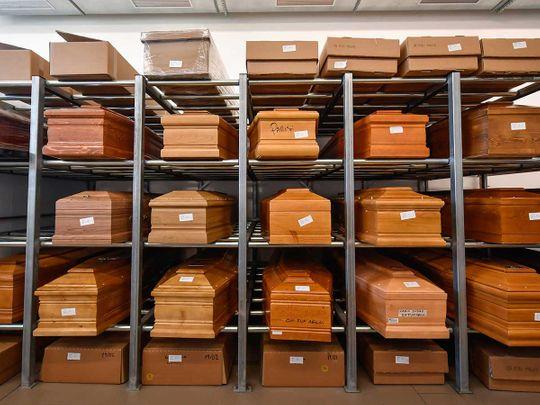 Italy coffins coronavirus