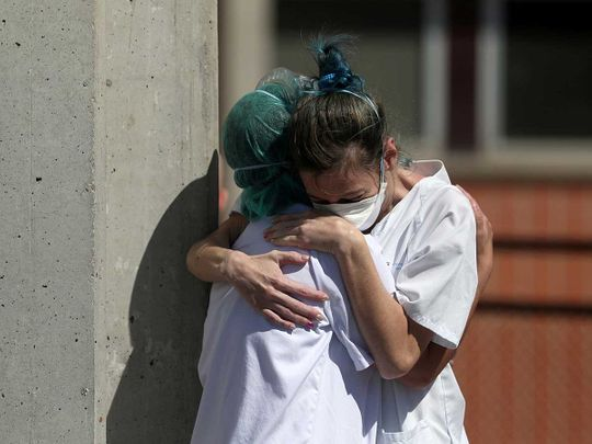 Spain reports 832 deaths in deadliest 24 hours yet
