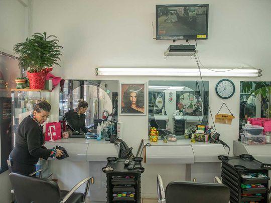 US Salon worker