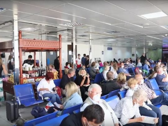 German tourists repatriated