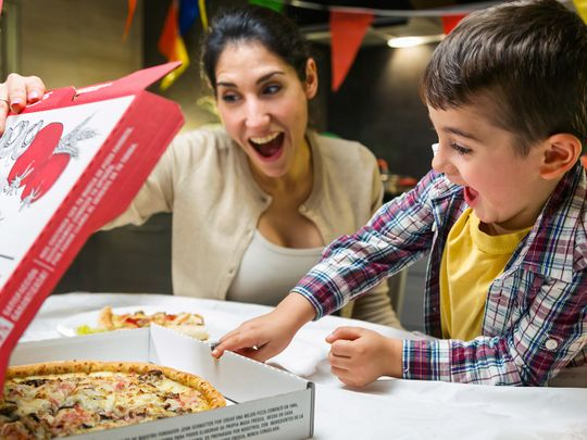 Papa John's UAE contact free delivery
