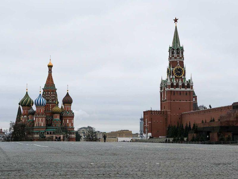 Russia lockdown
