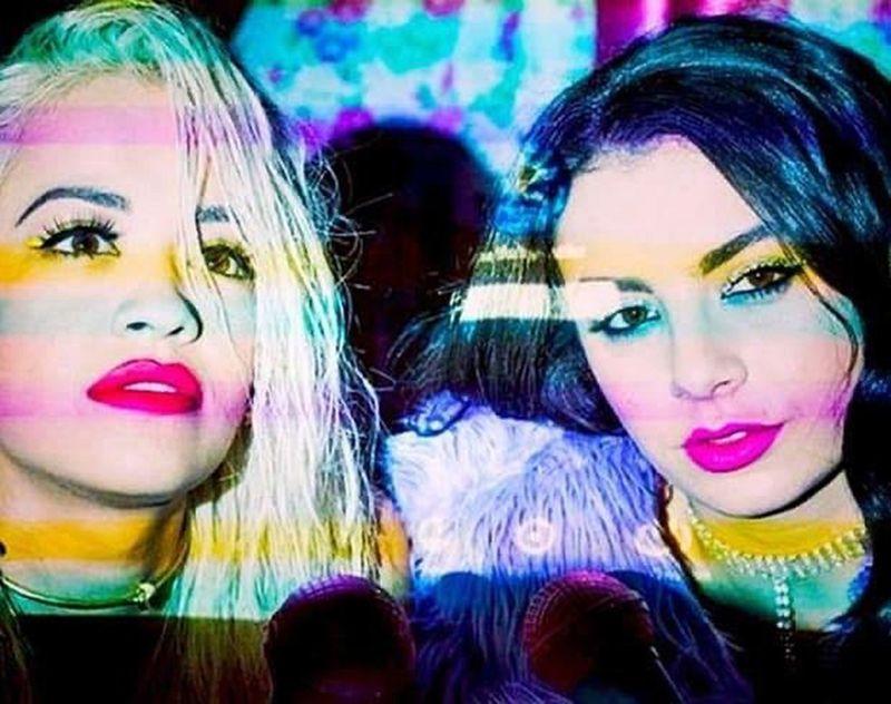 Charli XCX with Rita Ora