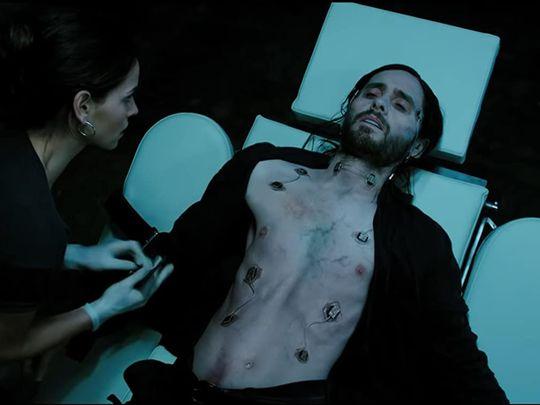 Jared Leto and Adria Arjona in Morbius (2020)-1585633238645