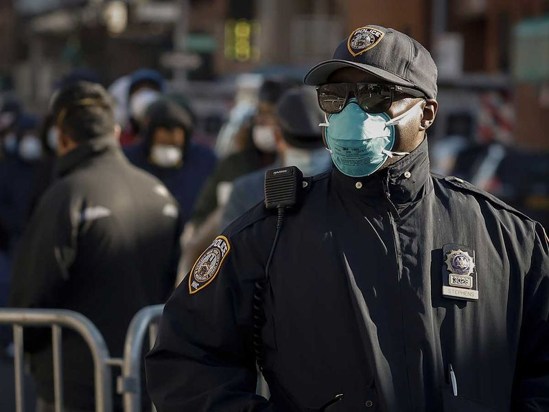 NYPD coronavirus New York