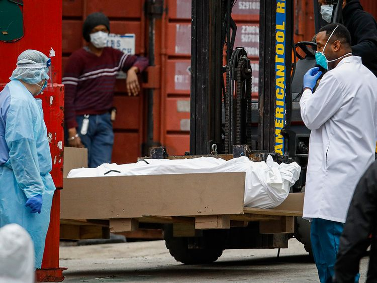 COVID-19: Virus transforms New York as US deaths top 4,000 ...