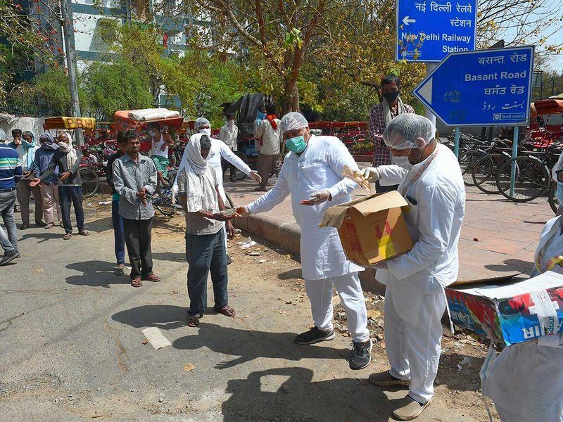 Delhi volunteers lockdown