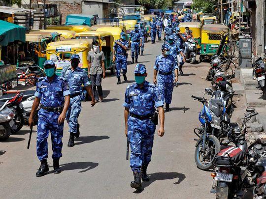 India Rapid Action Force coronavirus