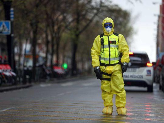 Spain emergency military unit coronavirus