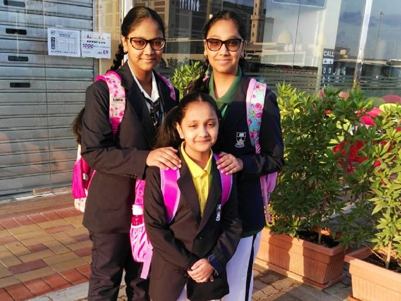 Tanvir Ahmed's daughters