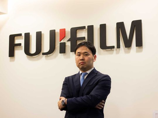 Chihiro-Sasaki,-Divisional-Manager-for-Medical-and-Healthcare,-Fujifi-lm-Middle-East