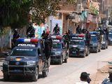 Pakistan police lockdown
