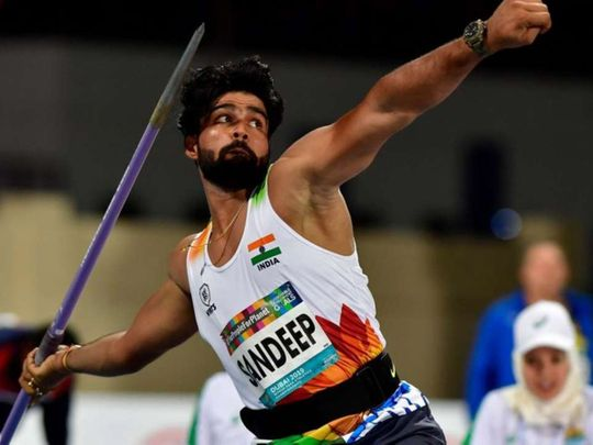 India's star Para Javelin thrower Sandeep Chaudhary had a moment of pride as the World record holder in F44 category has made it to the Forbes 30 Under 30 Asia list in Entertainment and Sports category for 2020.