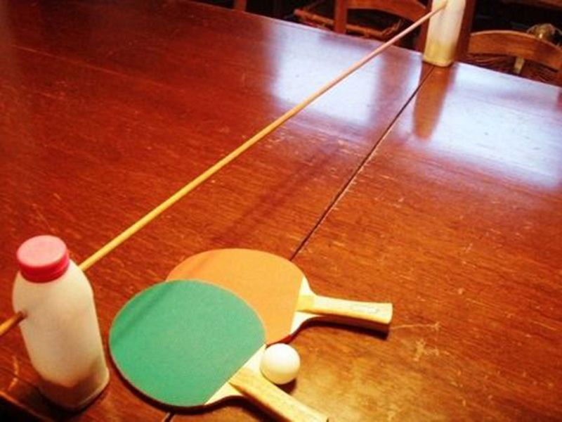 DIY pingpong table