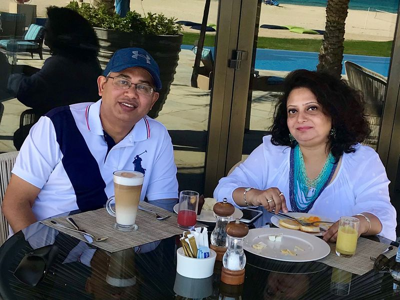 Snehashis Chakraborty, a finance professional, has been living in Dubai for more than 16 years with his wife and two kids.