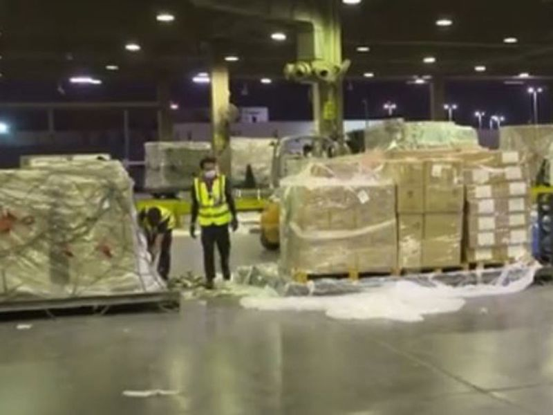UAE sends aid to Italy