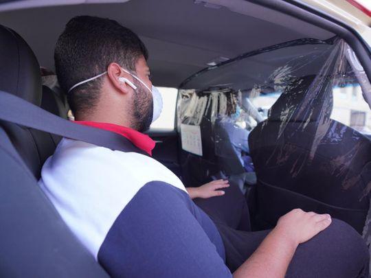 COVID 19 measures dubai taxi