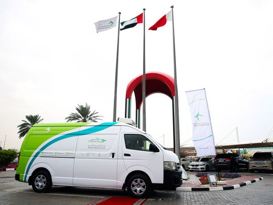 Dubai Health Authority free medicine delivery service