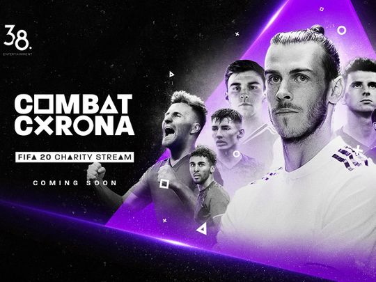 The Combat Corona initiative sill see top stars play against each other online