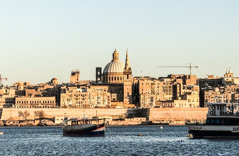 The historic heart of Valletta is a compact and beautiful city, built in a baroque style in the mid-1500s.