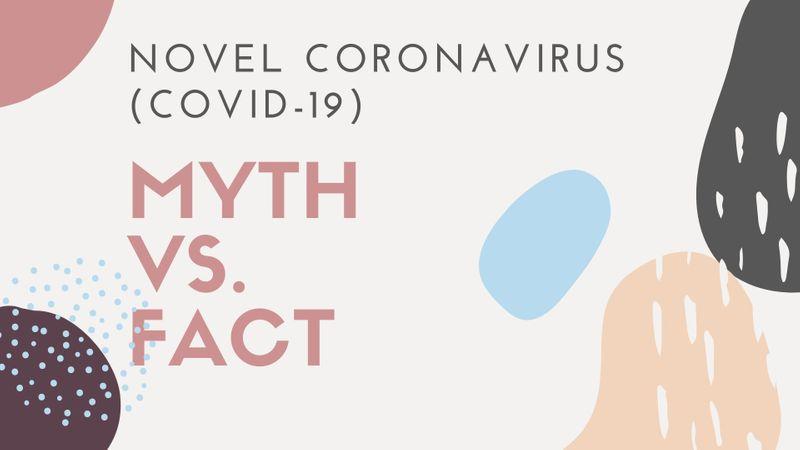 Coronavirus myth vs. fact