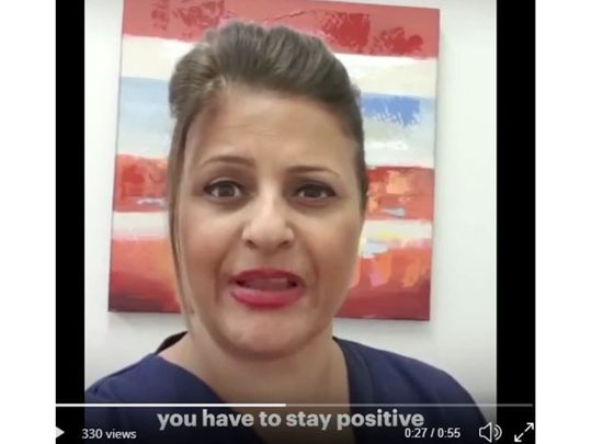 Screengrab of video