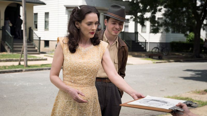 Winona Ryder and Anthony Boyle in The Plot Against America (2020)-1586263585272