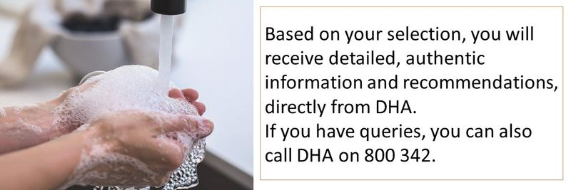 DHA Whatsapp