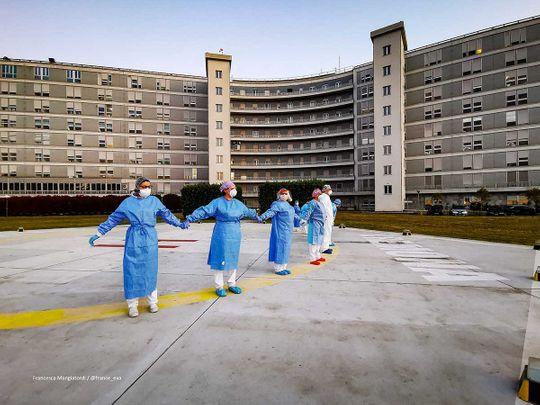 Italy medical staff