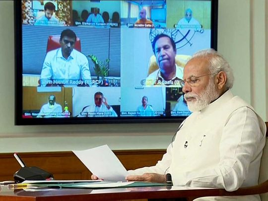 Modi conference lockdown