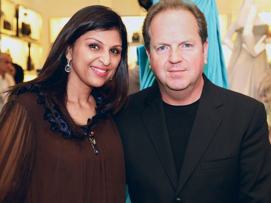 Richard and Padma Coram