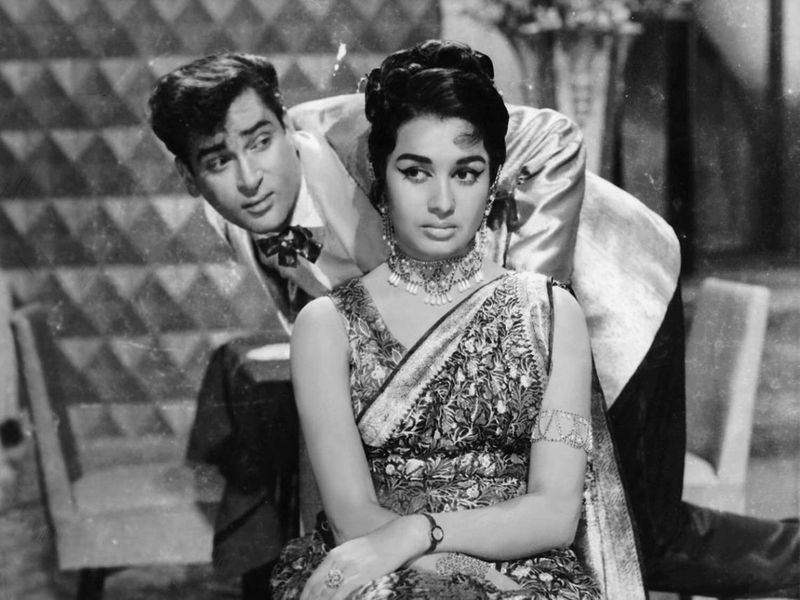 Shammi Kapoor and Asha Parekh in Teesri Manzil