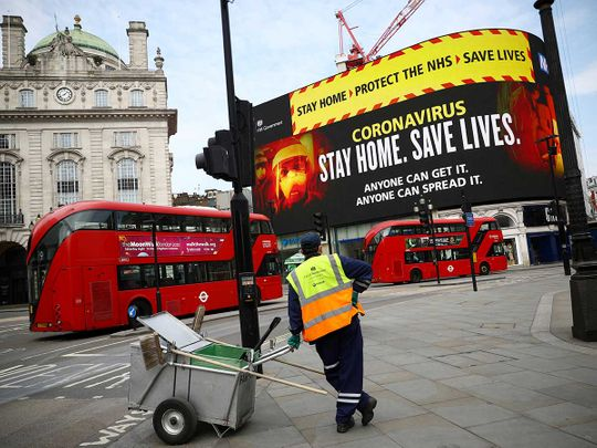 UK public health campaign coronavirus