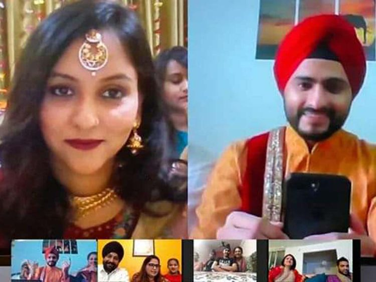 Coronavirus: Online weddings the latest trend? Couple in India ...
