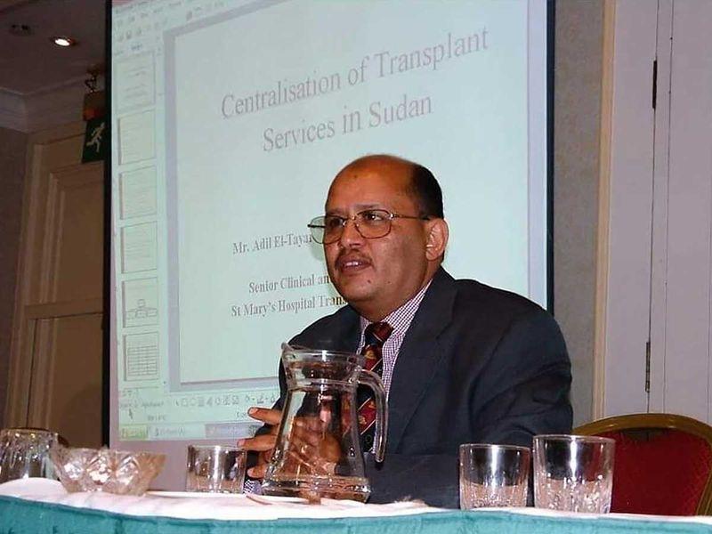 Dr Adil el-Tayar, NHS doctor from Sudan