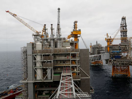 Equinor oilfield platform