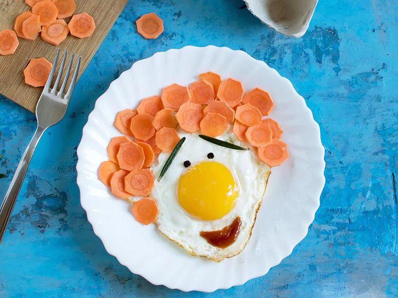 Fun food Sunny-side-up