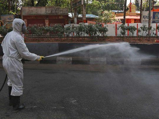 India disinfect coronavirus