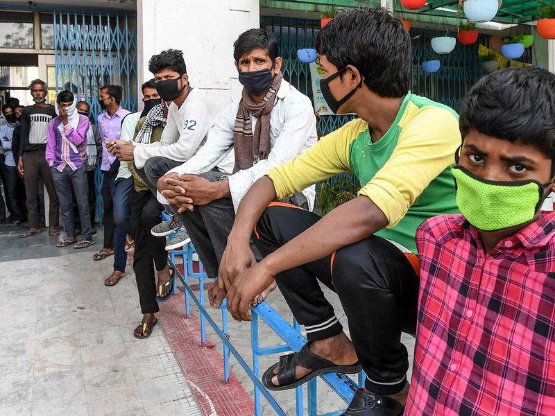 India migrant labourers