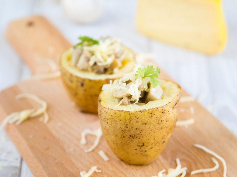 Potato-scoops