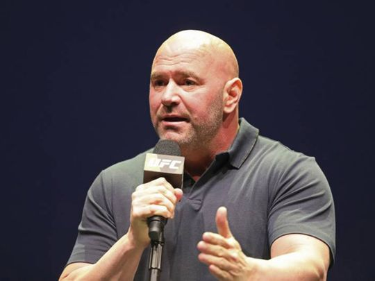 UFC chief Dana White