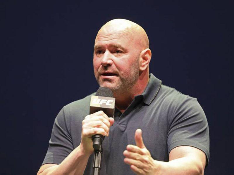 UFC chief Dana White