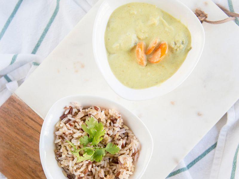 Veggies-chicken-curry