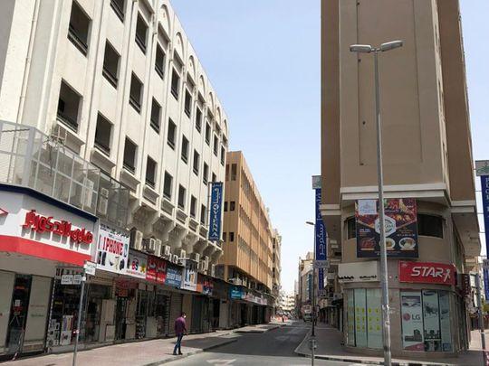 Dubai naif area