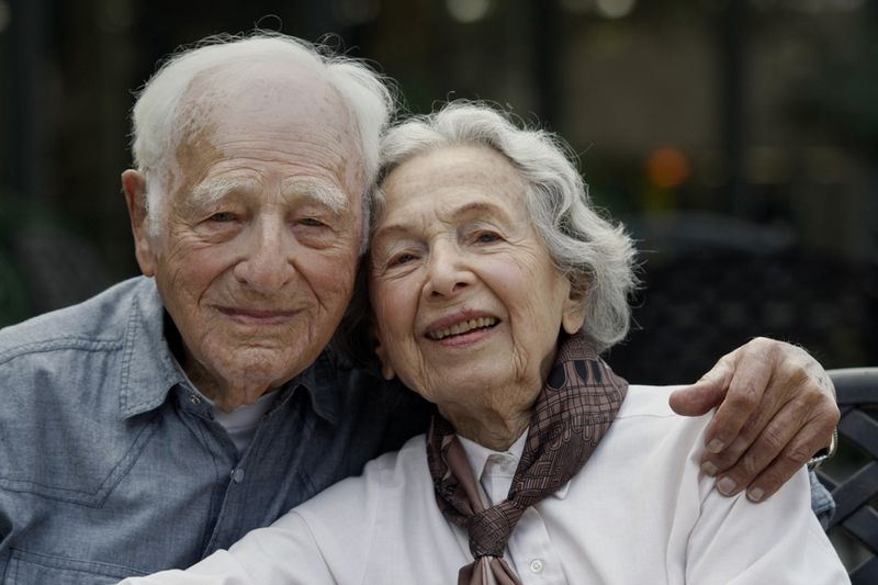 Morrie Markoff and his wife, Betty