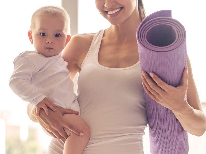 BC mum exercise