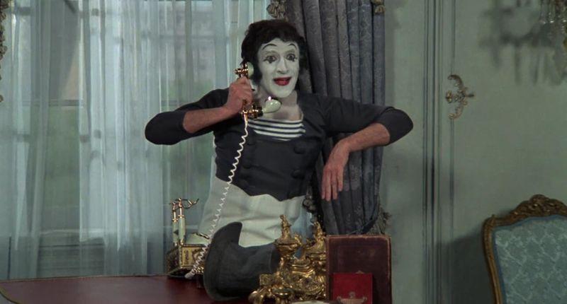 TAB 200411 Marcel Marceau in Silent Movie -1976-1586595152471