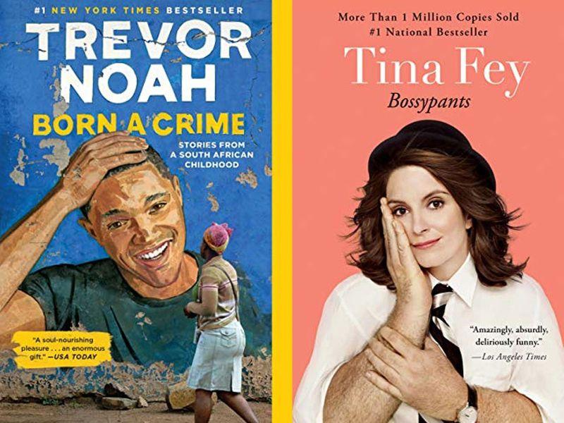 Audiobooks Tina Fey, Trevor Noah