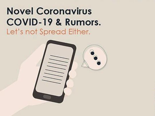 Department of Health - Abu Dhabi lists verified government entities to follow for coronavirus information