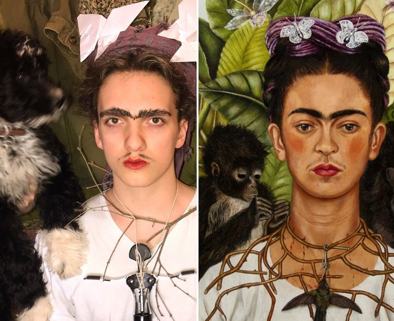 Getty Museum art recreations